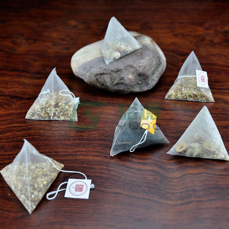 三角包袋泡茶